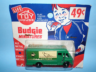 Budgie Miniatures No.57 REA Express Delivery Truck - Toy House blister-pack