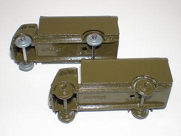 Benbros Mighty Midgets No.30 Army Wagon : AEC