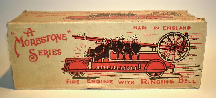 Morestone Clockwork Fire Engine illustrated box