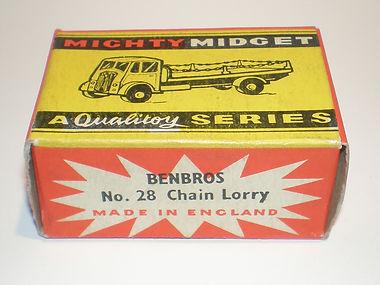 Benbros No.28 Chain Lorry box