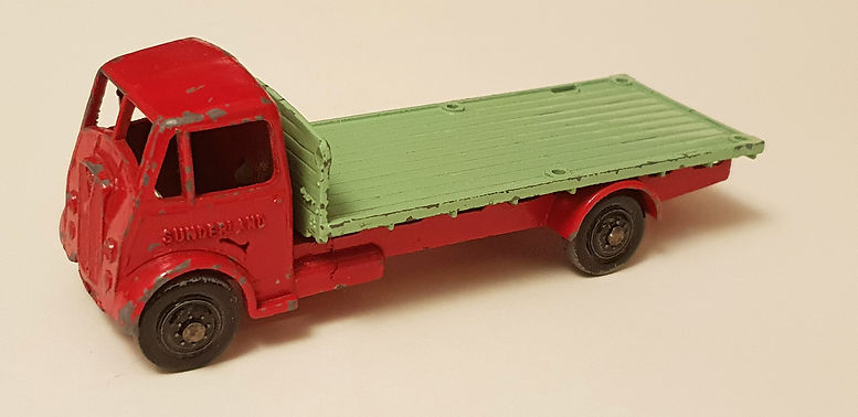 Benbros Qualitoys 227 Sunderland Flat Truck