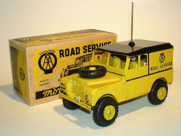 Morestone AA Road Service Land Rover (large version)