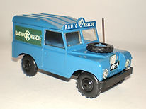 Budgie No.278 RAC Land Rover