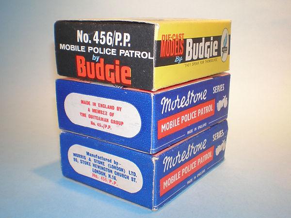 Budgie No.4456/PP Police Patrol box variations