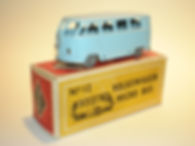 Budgie Miniatures No.12 VW Micro Bus - gpw, Modern (type 1) box