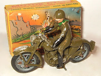 Benbros Qualitoys Army Despatch Rider