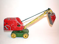Benbros Qualitoys Medium Excavator