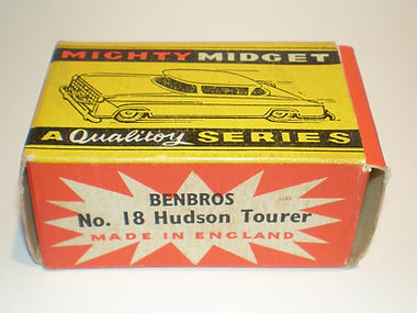 Benbros No.18 Hudson Tourer Mighty Midget box
