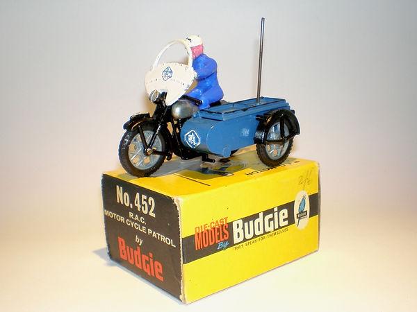 Budgie No.454 RAC Motorcycle Patrol Series 1