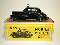 Budgie Miniatures No.5 Mobile Police Car