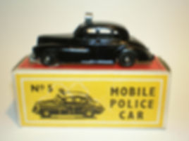 Budgie Miniatures No.5 Police Car