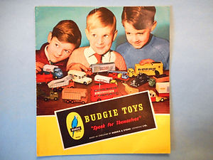 Budgie Toys Catalogue 1961