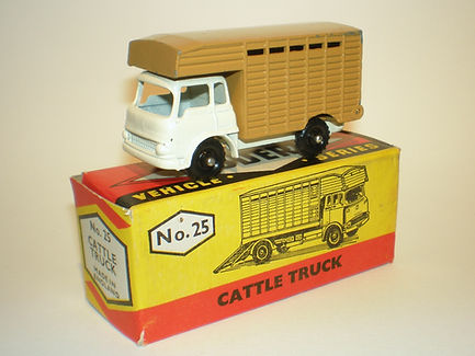 Budgie Miniatures No.25 Cattle Truck
