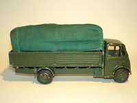 Benbros Qualitoy A106 Army Covered Truck