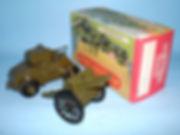 Benbros Qualitoy A105 Armoured Car & Field Gun