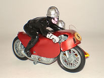 Budgie No.264 Racing Sidecar Outfit