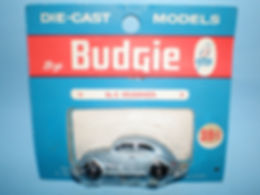 Budgie Miniatures No.8 Volkswagen - blue blister-pack