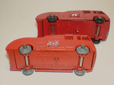 Benbros No.9 Fire Engine wheels