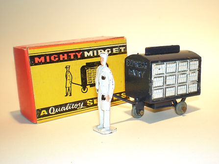 Benbros Mighty Midget No.7 Electric Milk Trolley