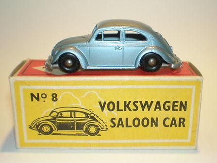 Budgie Miniatures No.8 Volkswagen Saloon Car