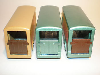 Budgie Miniatures No.58 Modern Removal Truck - ramp colours