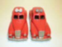 Budgie Miniatures No.27 Fire Chief Car - loudspeaker variations