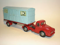 Budgie No.252 BR Container Transporter