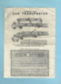 Morestone Car Transporter Coupon