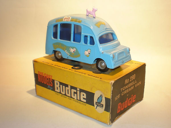 Budgie Toys No.290 Tonibell Ice Cream Van
