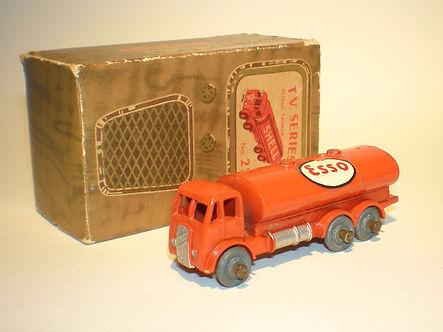 Benbros TV Series No.22 Petrol Tanker - orange