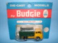 Budgie Miniatures No.21a Tipper Truck - blue blister-pack