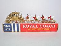 Benbros Zebra Toys Royal Coach