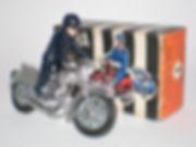 Zebra Toys Motorcycle No.1 Police Patrol