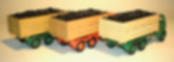 Budgie No.206 Leyland Hippo Coal Truck colours