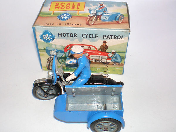 Benbros Qualitoys Motorcycle Patrol