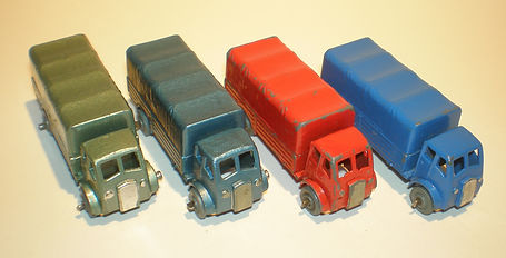 Benbros No.31 Covered Truck - AEC colours