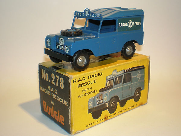 Budgie No.278 RAC Radio Rescue Land Rover