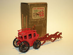 Benbros TV Series No.4 Stage Coach red