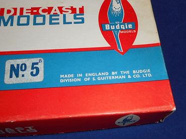 Budgie Gift Set No.5 (Series 2) maker's name