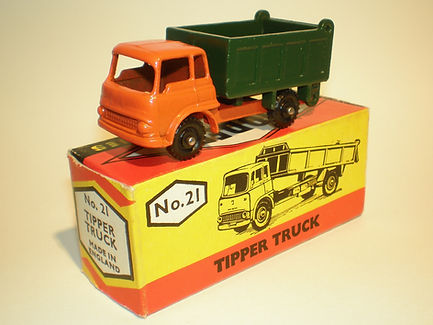 Budgie Miniatures No.21a Tipper Truck