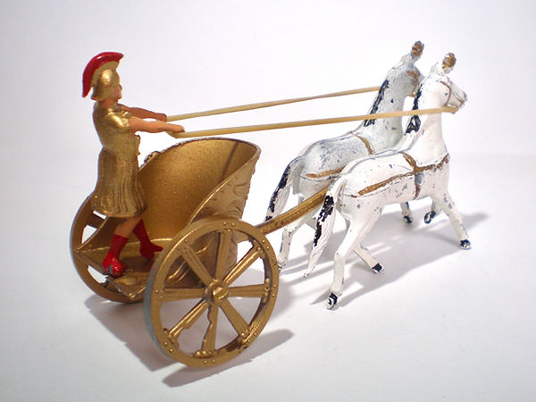 Benbros Qualitoys Roman Chariot