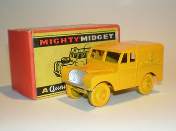 Benbros Mighty Midget No.34 AA Road Service Land Rover