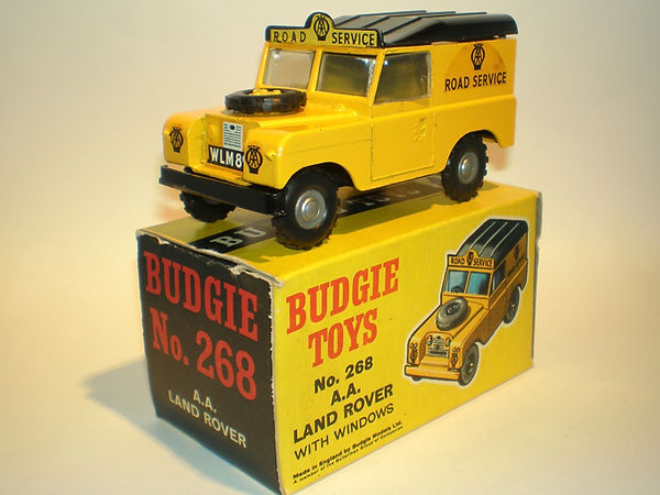 Budgie No.268 AA Road Service Land Rover