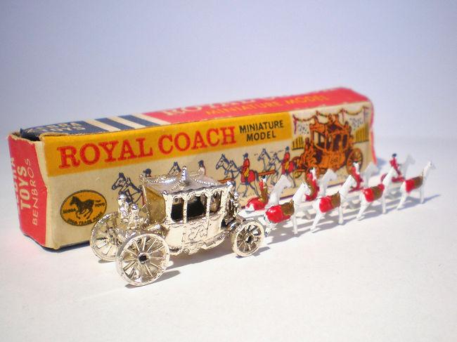 Benbros Zebra Toys Royal Coach - silver