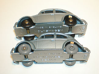 Budgie Miniatures No.8 Volkswagen - wheels and base