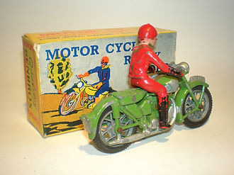 Benbros Qualitoys Rally Rider Motorcycle
