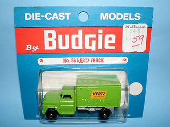 Budgie Miniatures No.56 Hertz Truck - blue blister-pack