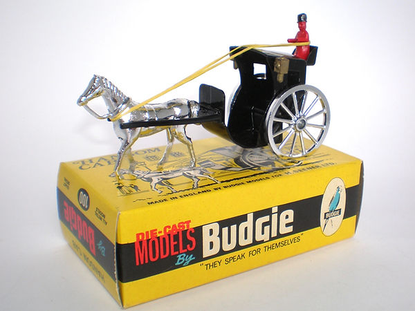 Budgie No.100 Hansom Cab (chrome)