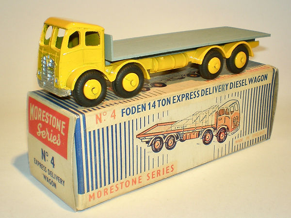 Morestone No.4 Foden Express Delivery Diesel Wagon