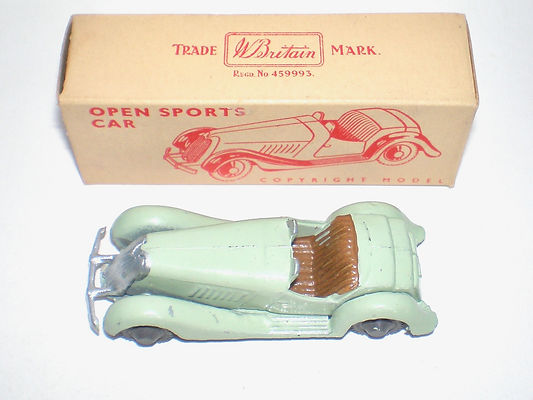 Britains Lilliput Vehicles LV/601 Open Sports Car with box